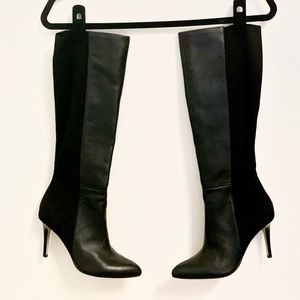 White House Black Market Leather Boots